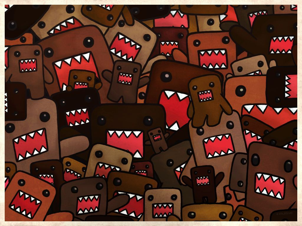 Cute Domo Wallpapers - Wallpaper Cave