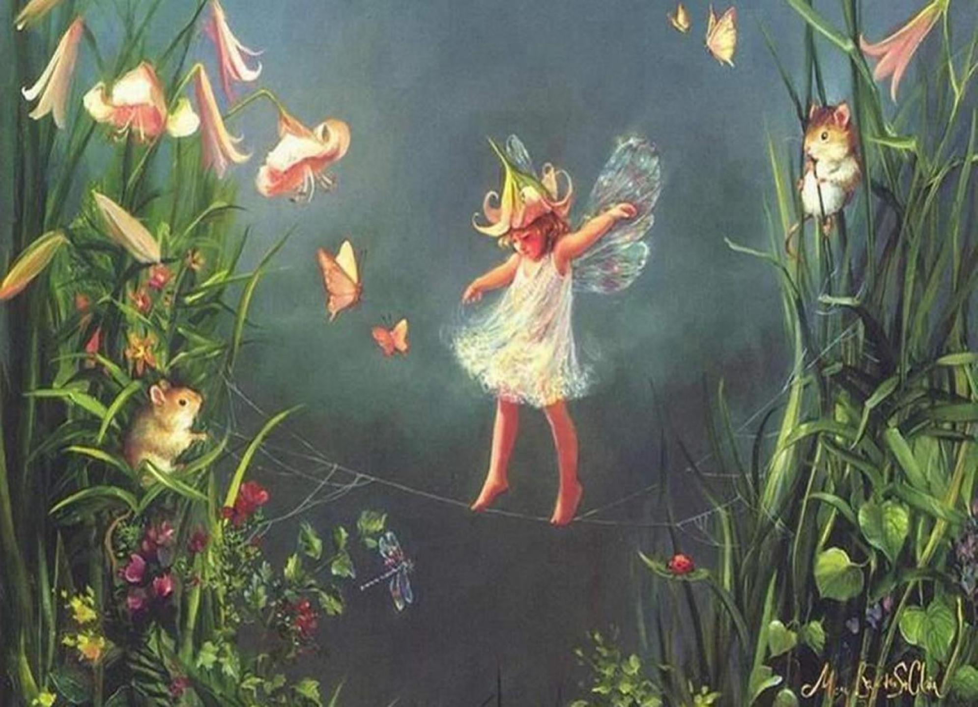 Pretty Fairy Wallpapers - Wallpaper Cave