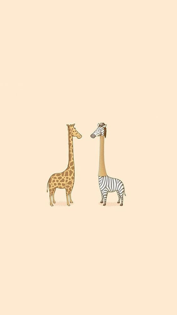 Cute Giraffe Yellow Animal Minimal #iPhone #5s #wallpaper | iPhone