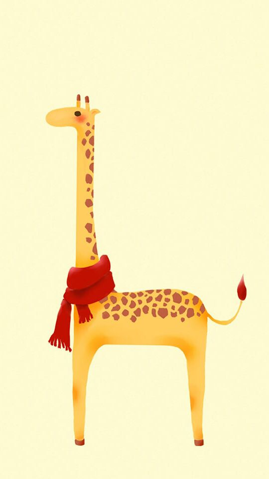 Cute giraffe iPhone wallpaper | Cute | Pinterest | Cute giraffe