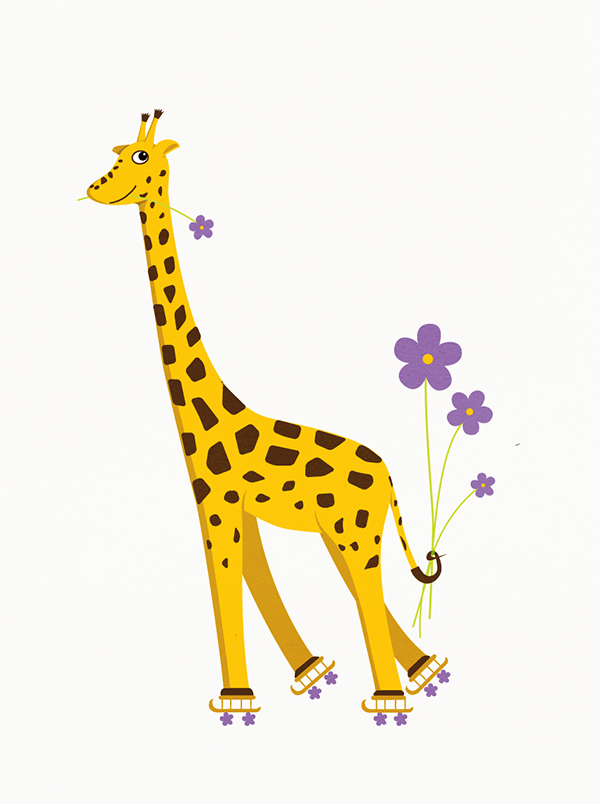 Cute Giraffe Wallpaper - WallpaperSafari
