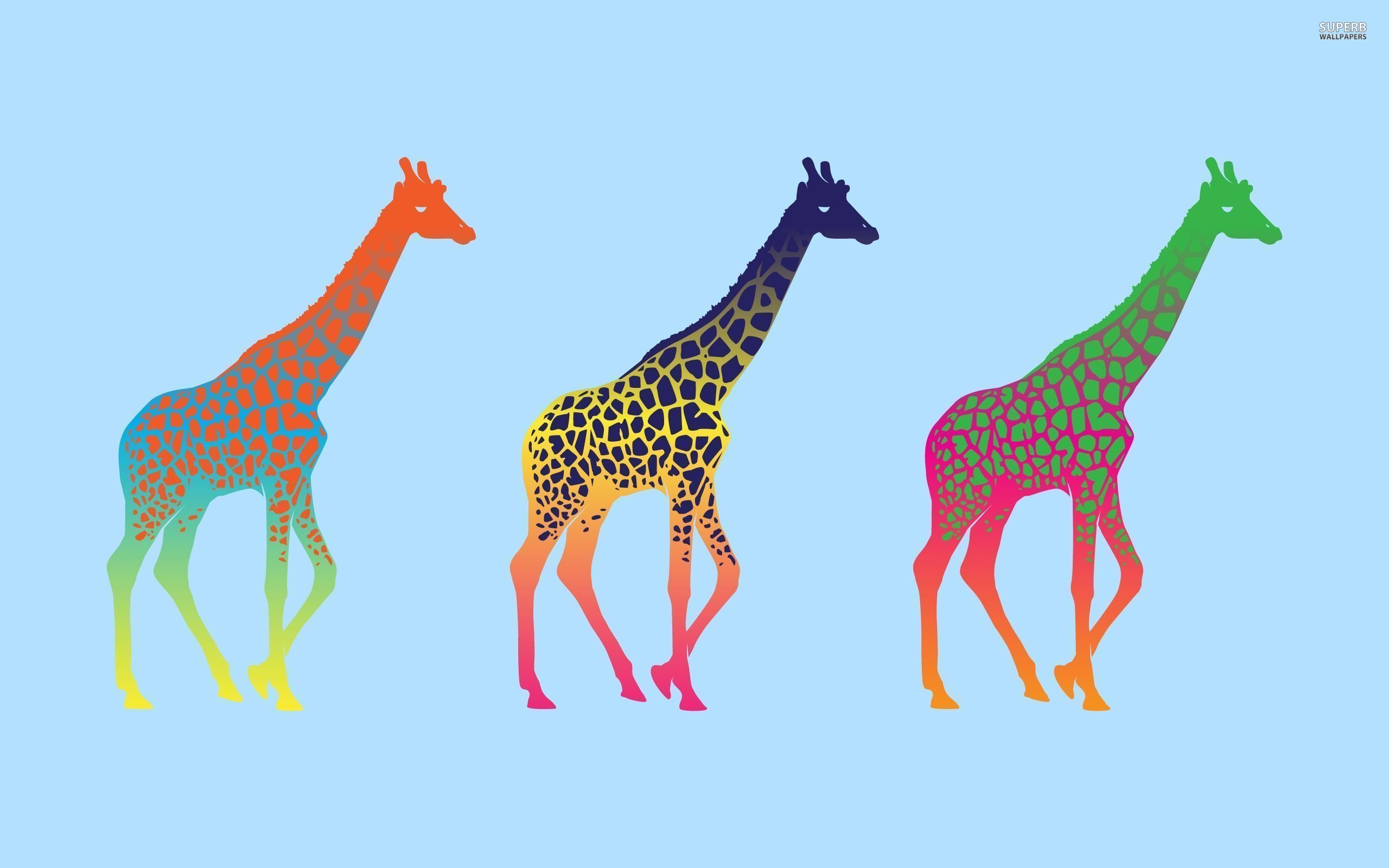 Giraffe Tongue Wallpaper