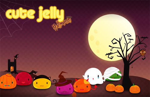 Cute Halloween Computer Wallpaper - WallpaperSafari
