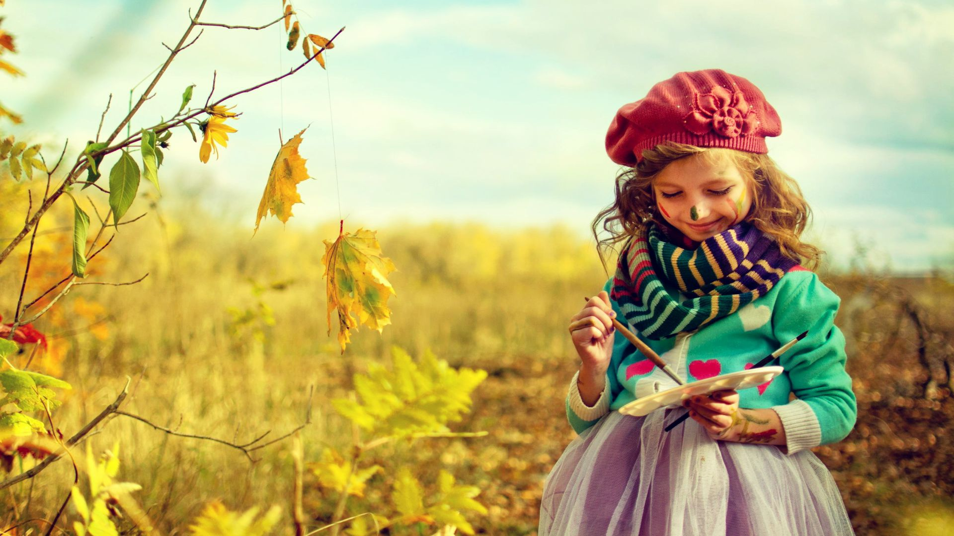 Collection Of Cute Little Girl Wallpapers On HDWallpapers
