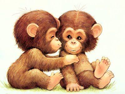 Cute Girl Monkey Cartoons | Cute Cartoon Wallpapers, Cartoon Girls