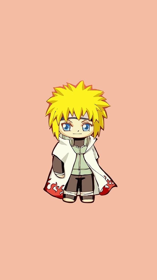 A cute Minato wallpaper : Naruto