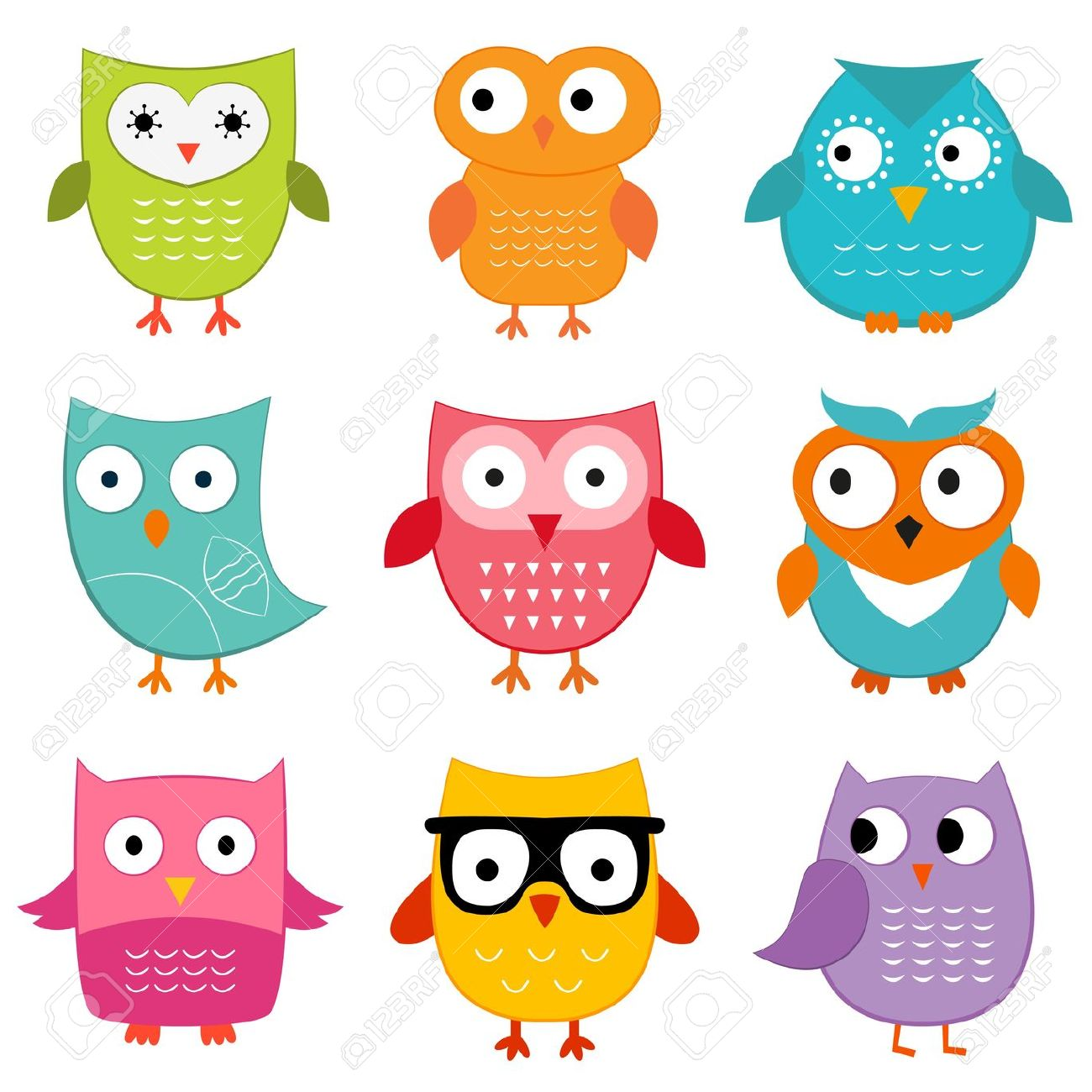 18,920 Cute Owl Stock Vector Illustration And Royalty Free Cute
