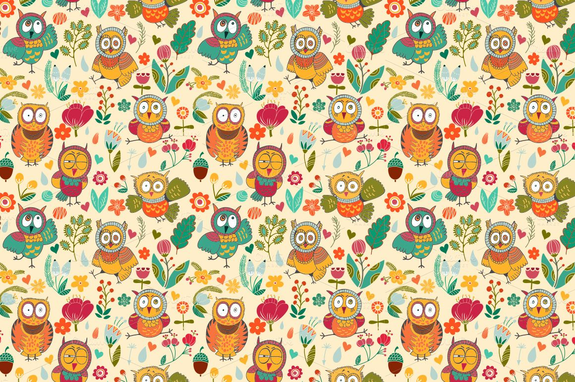 Cute Owl Wallpapers - WallpaperSafari