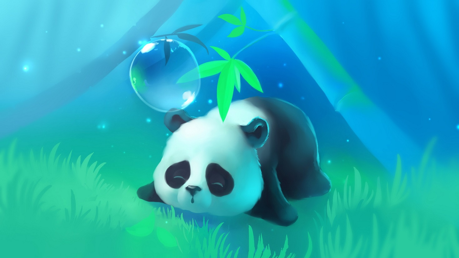 Collection of Cute Panda Wallpaper on HDWallpapers