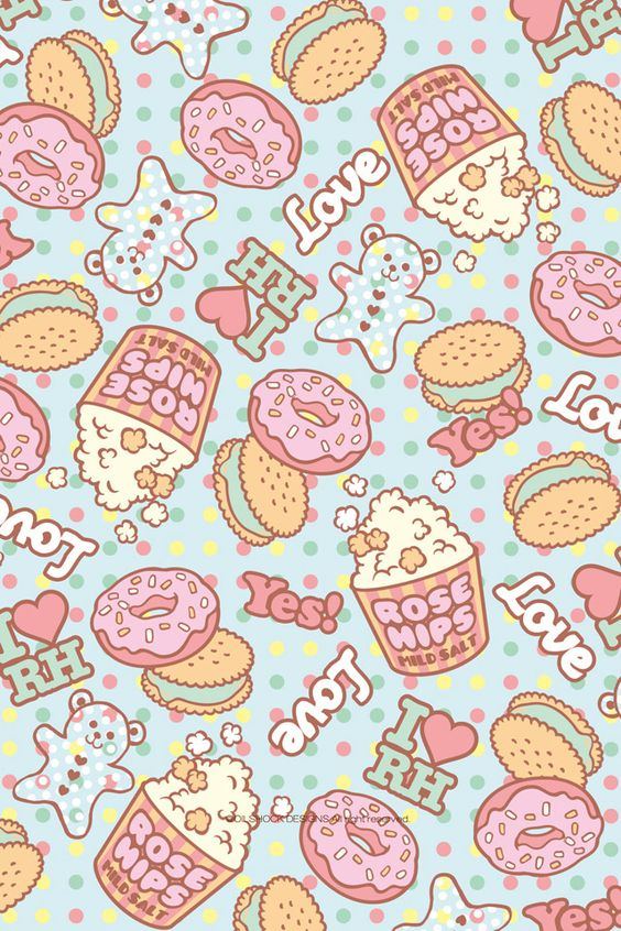 cute pattern wallpaper