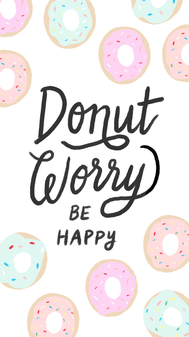 28 Delightful Free Phone Wallpapers That'll Make You Smile