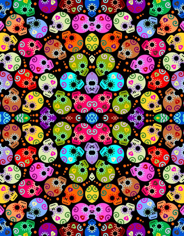 Cute Skull Wallpaper - WallpaperSafari