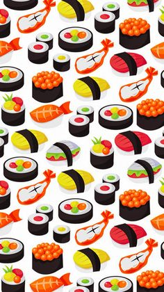Cute Sushi Wallpaper Sf Wallpaper