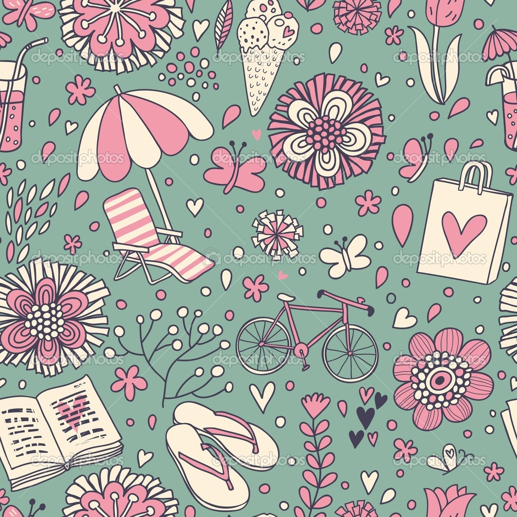 Cute Vintage Wallpaper