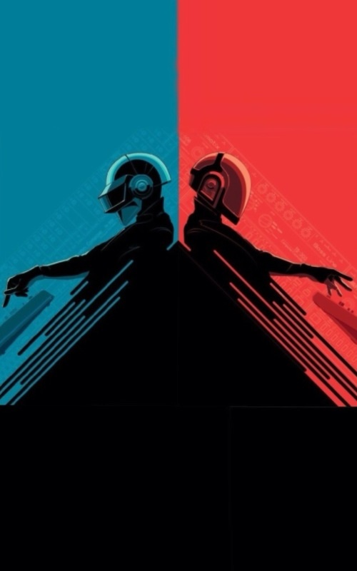 Daft Punk IPhone 5 Wallpapers
