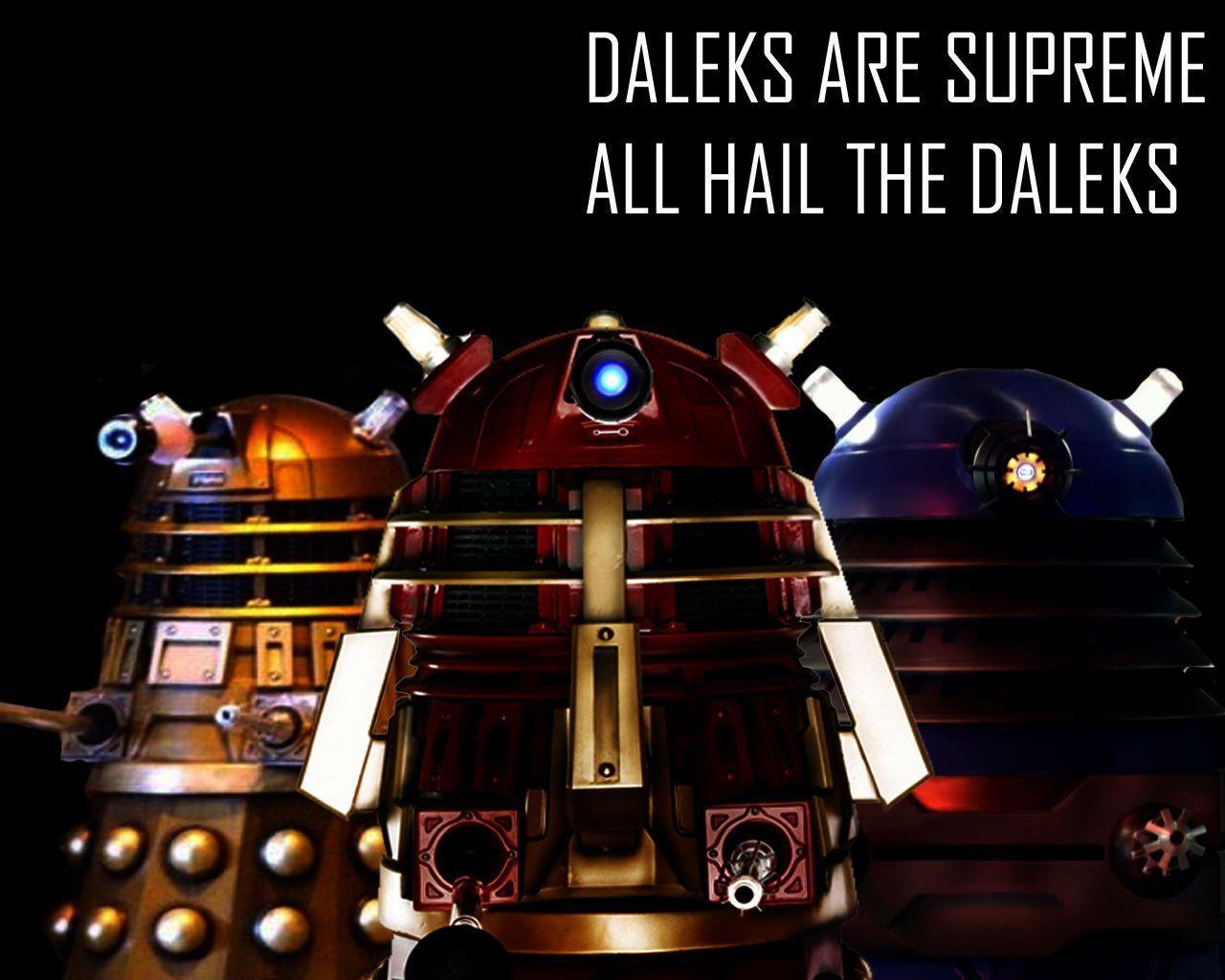 Daleks Wallpapers - Wallpaper Cave