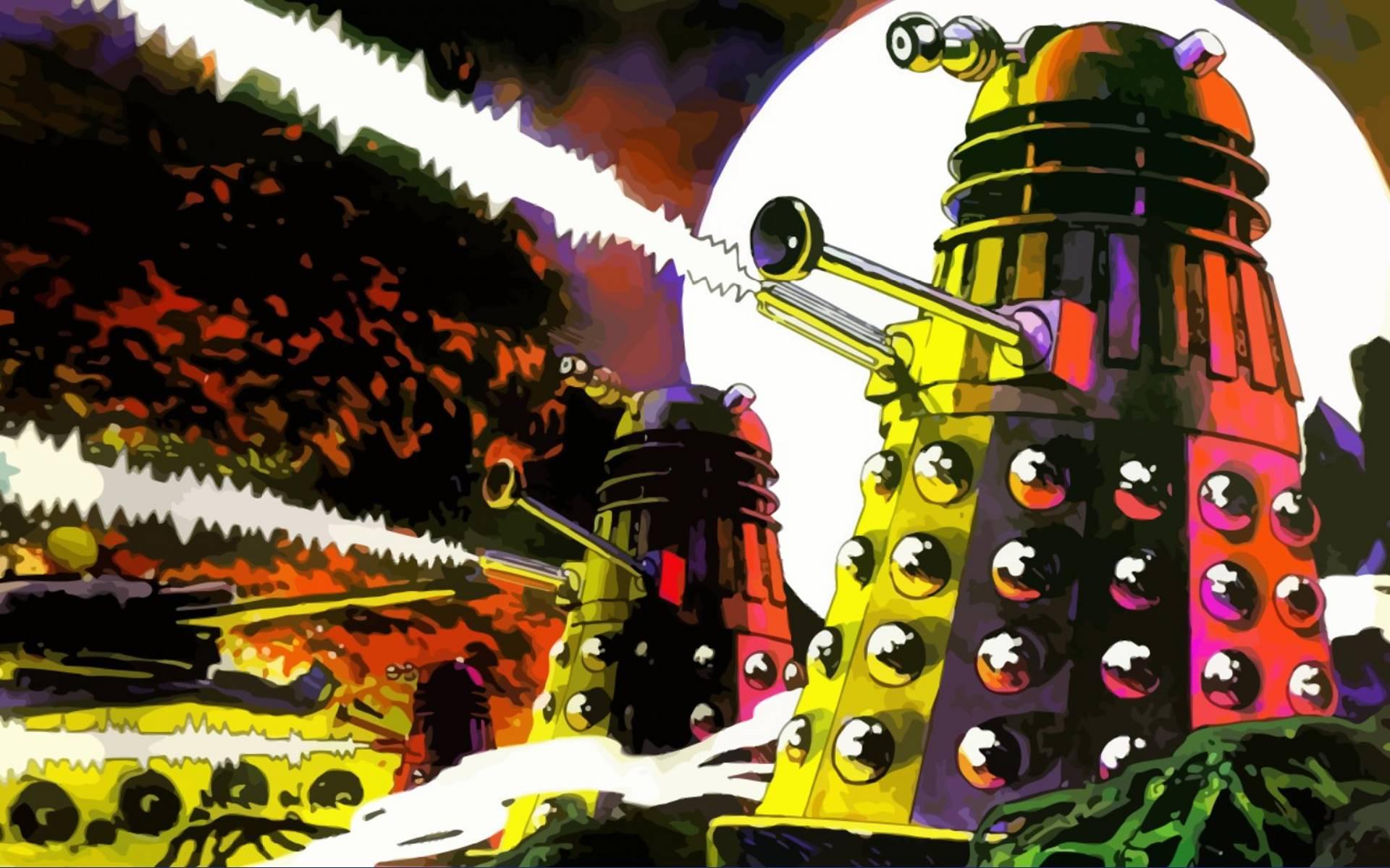Dalek to Victory Wallpaper - WallpaperSafari