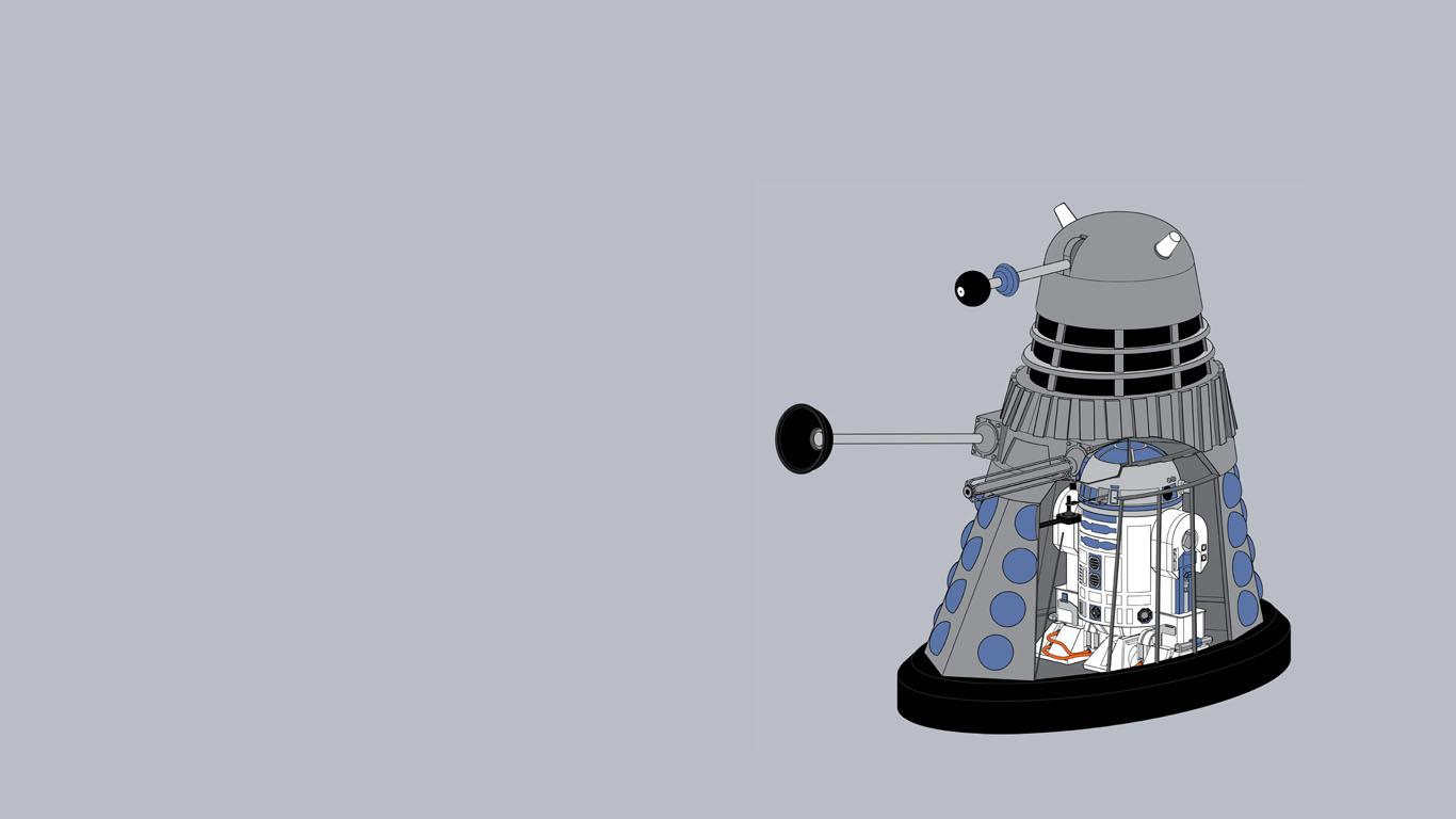 Dalek Wallpaper | 1366x768 | ID:54940