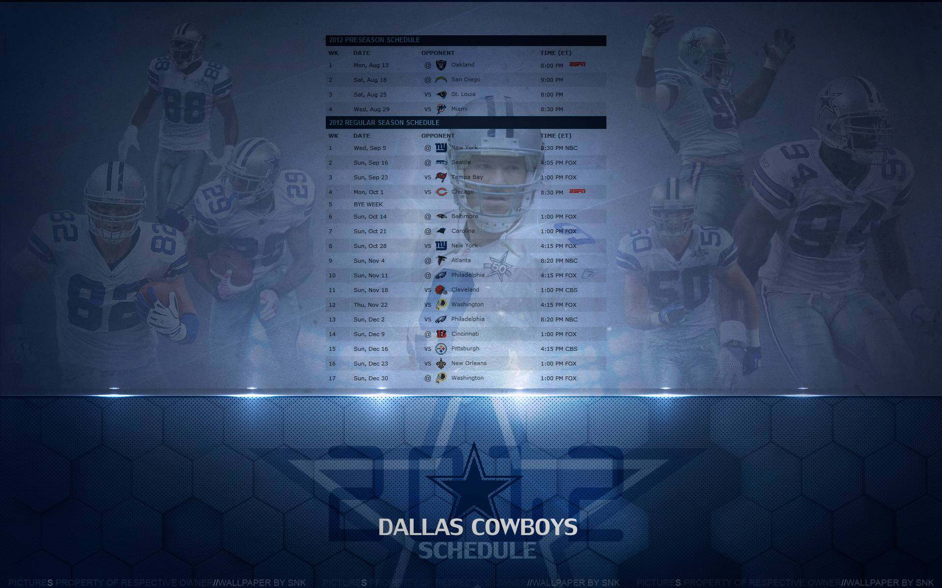 dallas cowboys schedule wallpaper - sf wallpaper