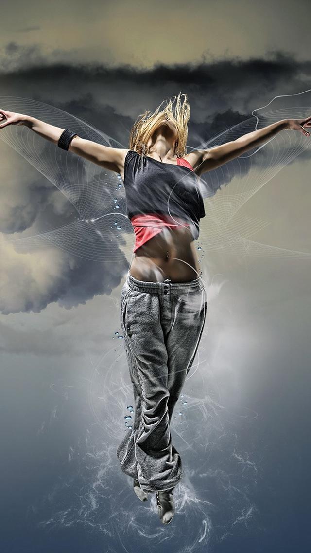 Dance Girl #iPhone #5s #Wallpaper | Download more in http://www