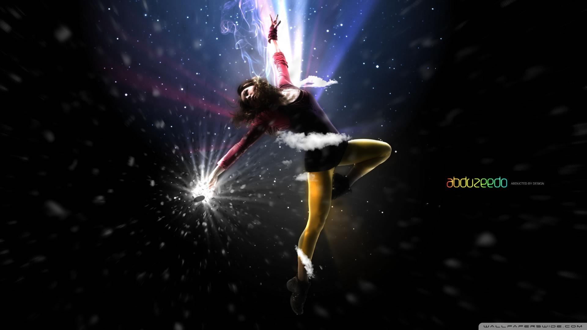 Dancing Girl HD desktop wallpaper : Widescreen : High Definition