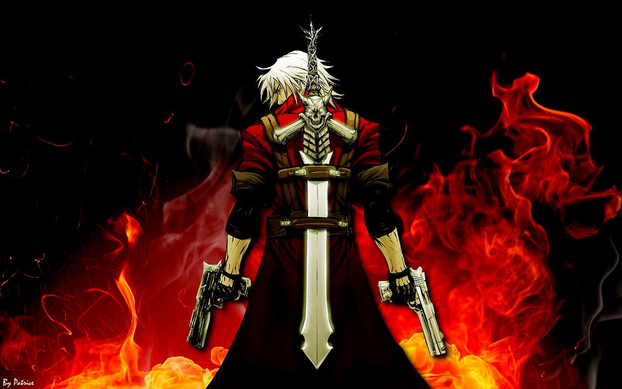 Devil May Cry 4 Dante Wallpapers Group (79+)