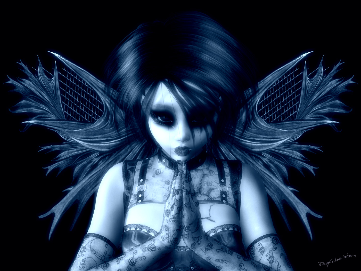 Dark Angel Background - WallpaperSafari