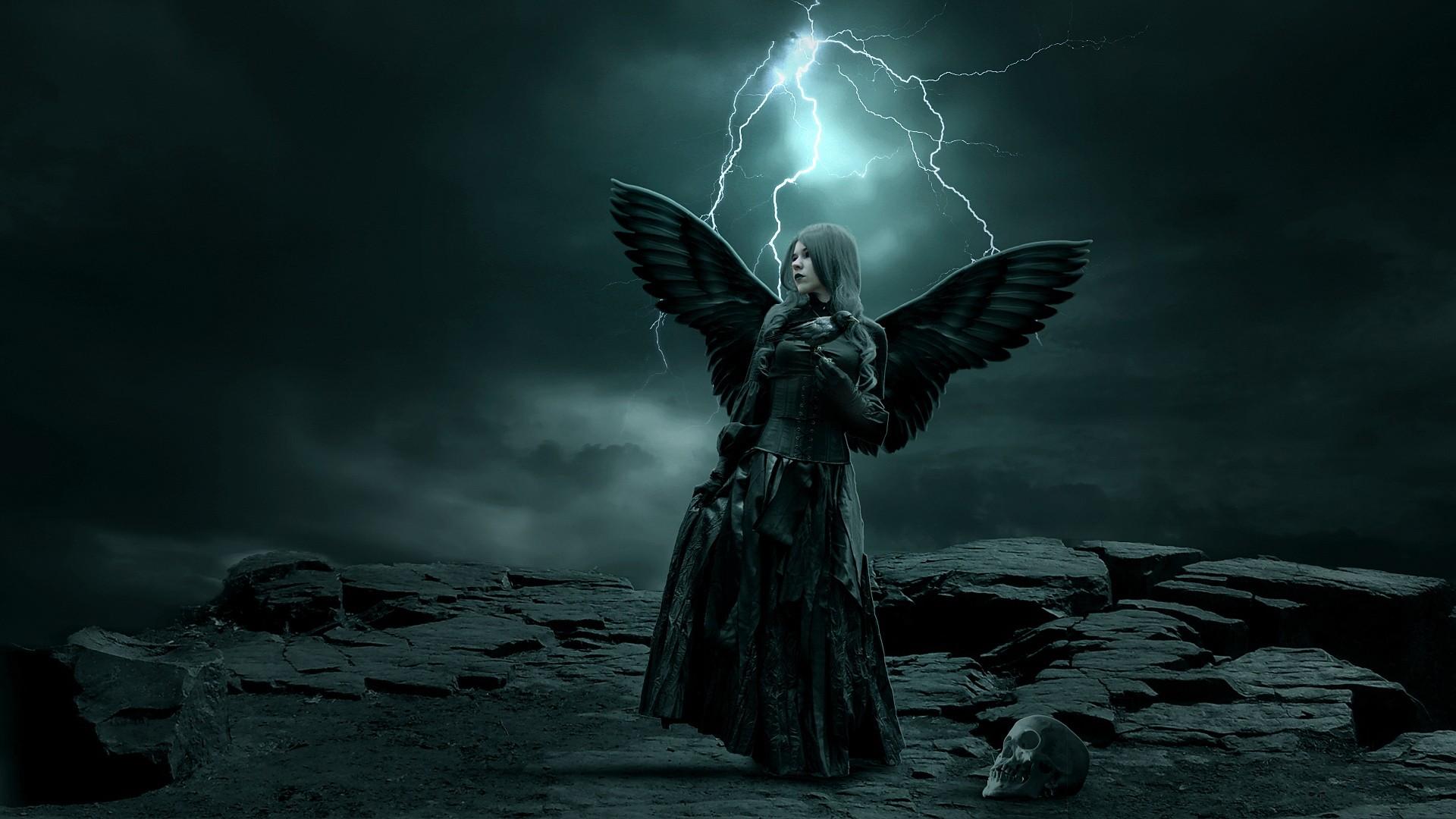 Dark - angel Wallpaper   Strange magic scary    World