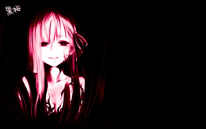 NIJ83 High Resolution Dark Anime Wallpaper, Dark Anime Wallpapers