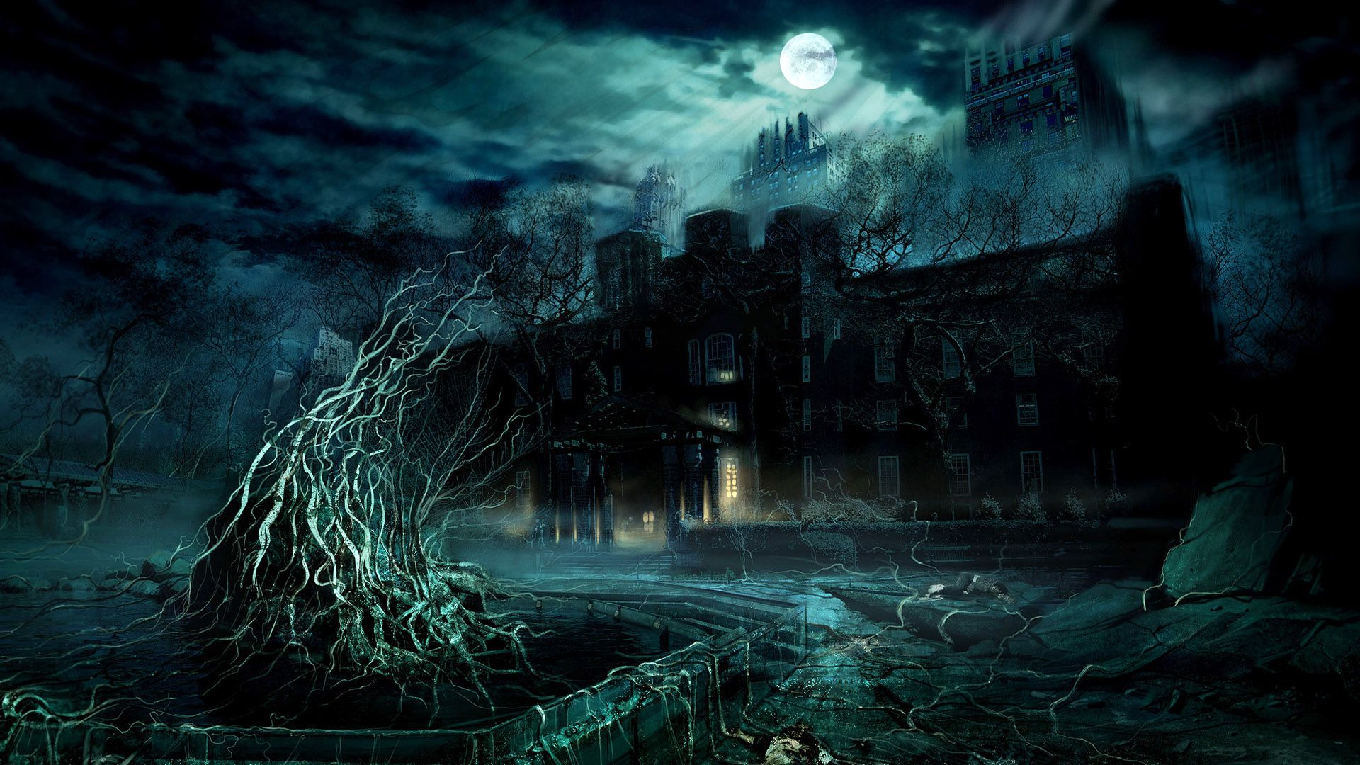 Gothic / Dark Art: 3D Fantasy Places HD, picture nr  47797