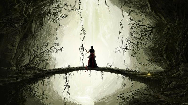 dark art | fantasy dark fantasy art artwork cover 1600x900