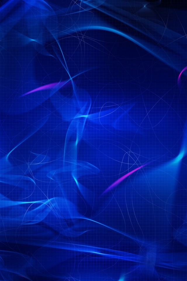 Abstract Dark Blue iPhone Wallpaper HD