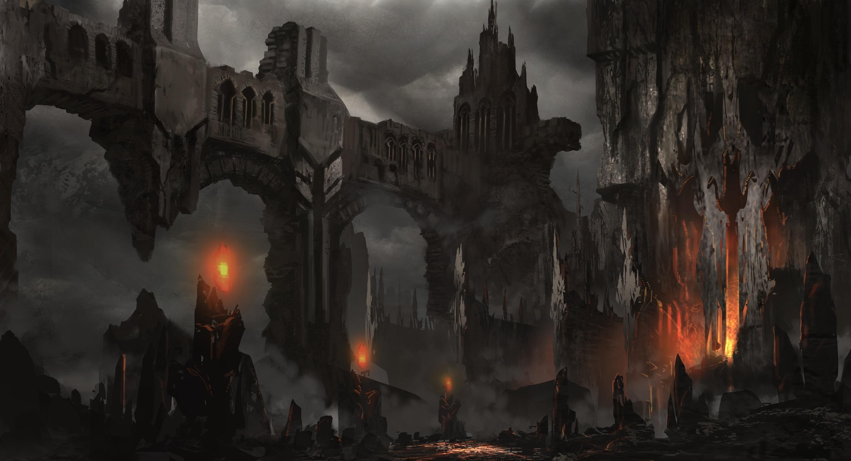 Fantasy Dark Castle Wallpaper Hd Widescreen 11 HD Wallpapers | Ann