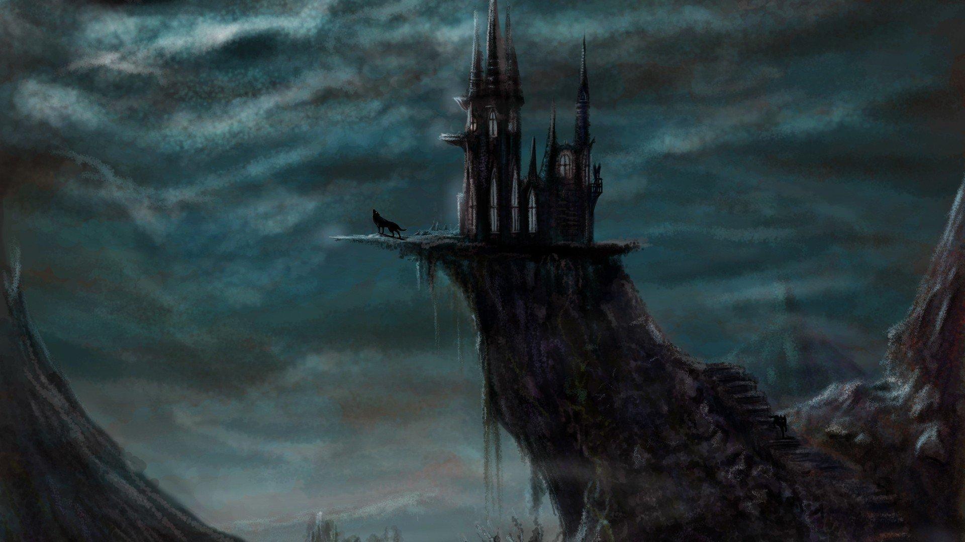 Dark Castle Wallpaper