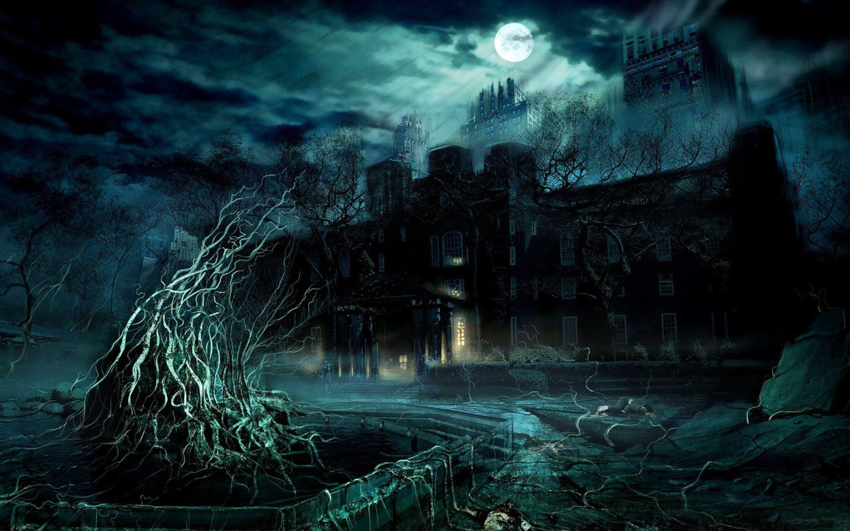 Dark Castle Wallpaper Hd Wallpaper