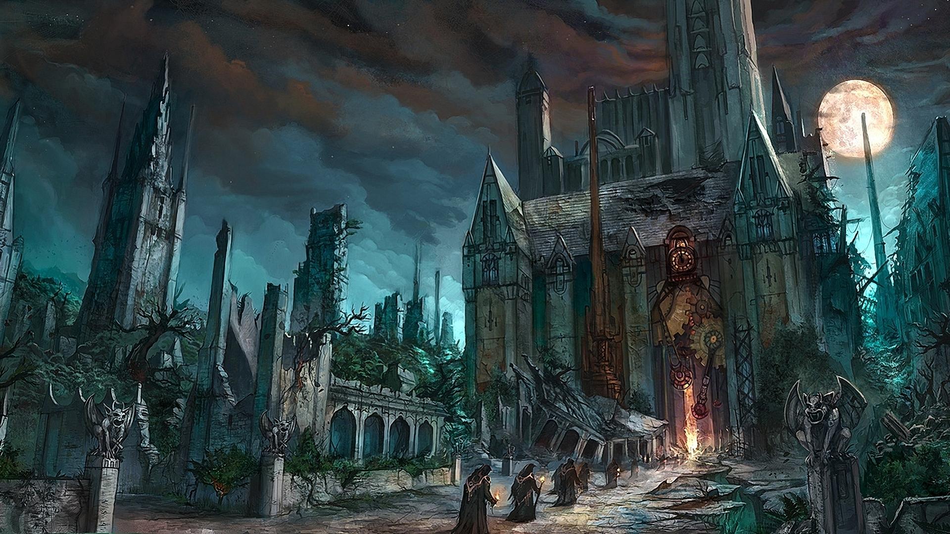 Vampire Castle HD Wallpaper - Beraplan  | vampire love | Pinterest