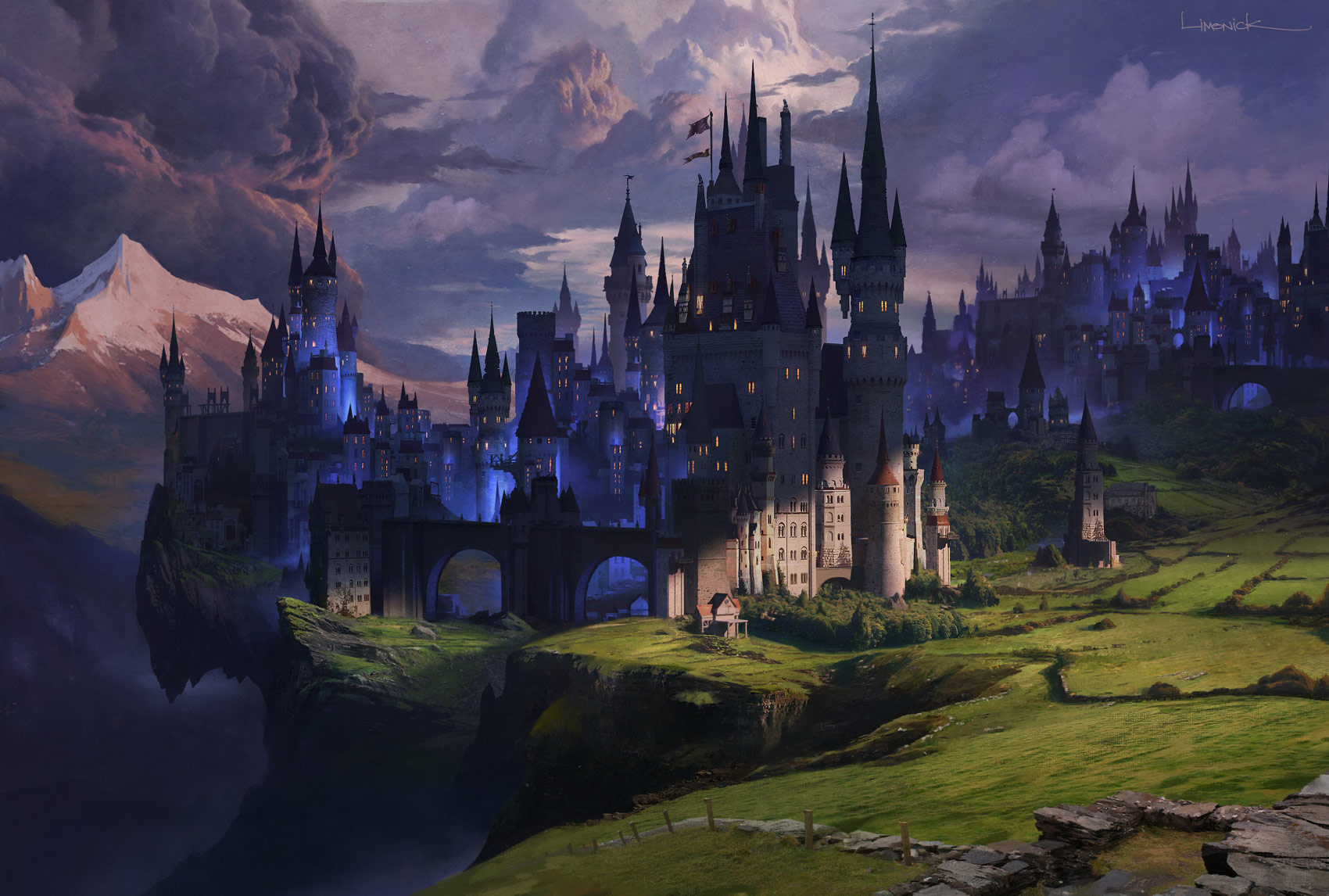 Dark Castle Wallpaper by HD Wallpapers Daily