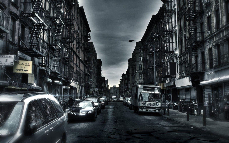 Dark City Background Page 1