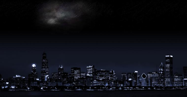 Dark city wallpaper 3360x1050 - (#25534) - High Quality and
