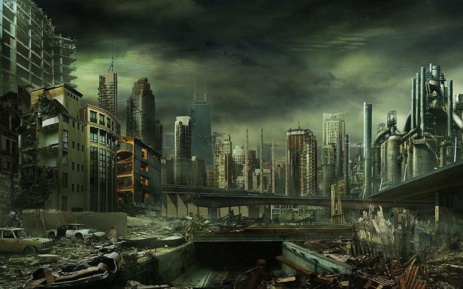 Dark City Wallpaper - WallpaperSafari