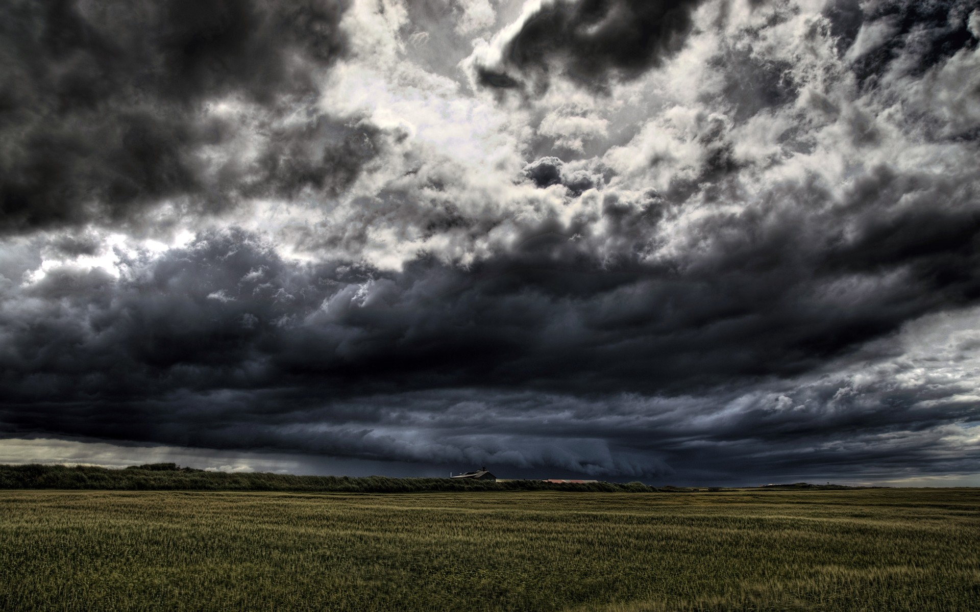 Collection of Dark Clouds Wallpaper on HDWallpapers