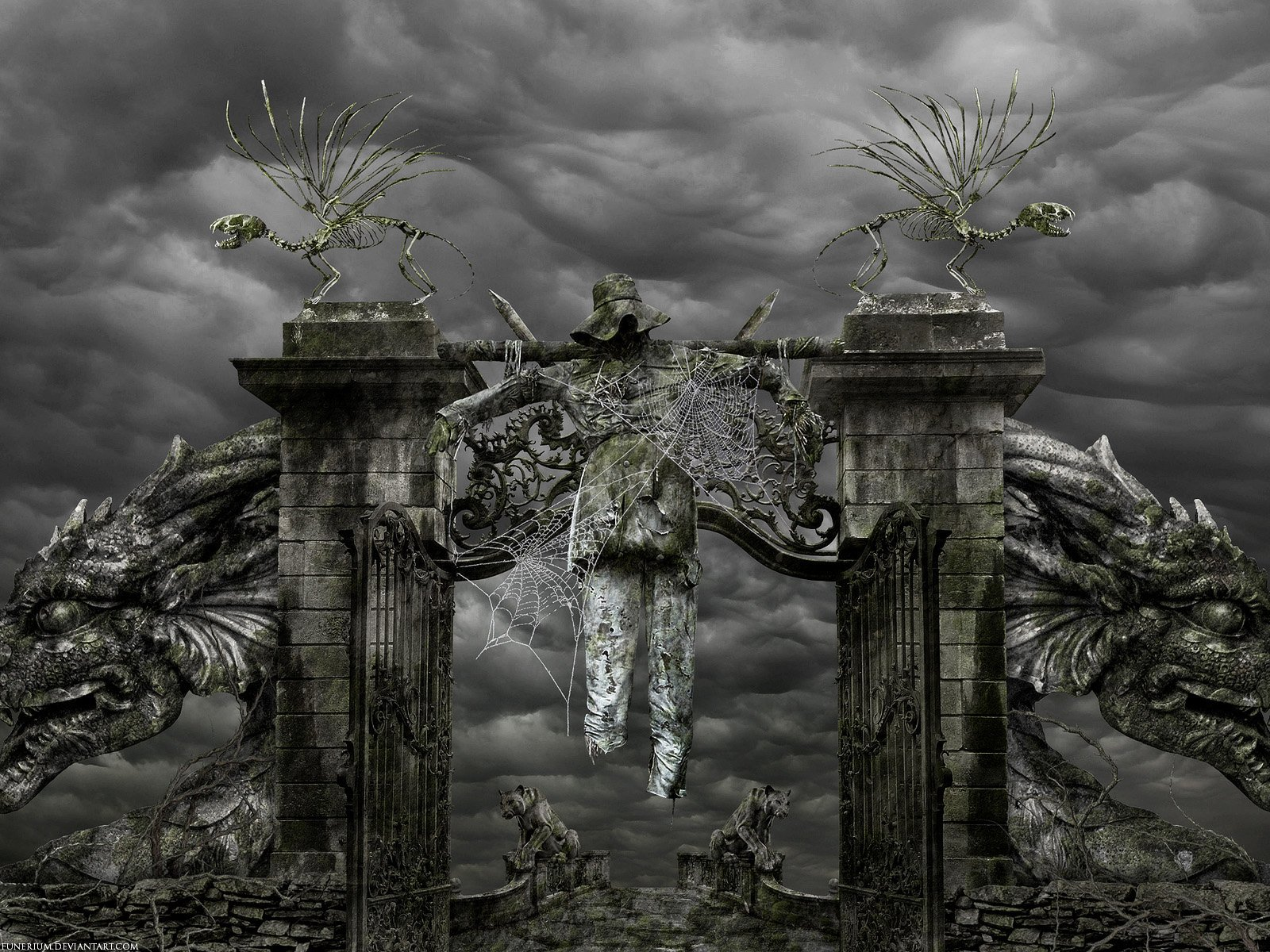 7 Evil HD Wallpapers | Backgrounds - Wallpaper Abyss