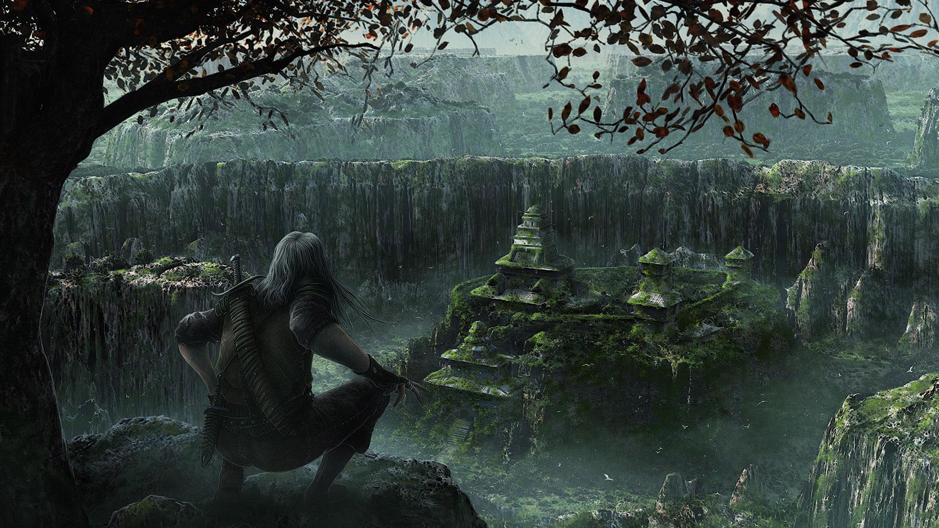 Download Fantasy City Dark Wallpaper | Full HD Wallpapers