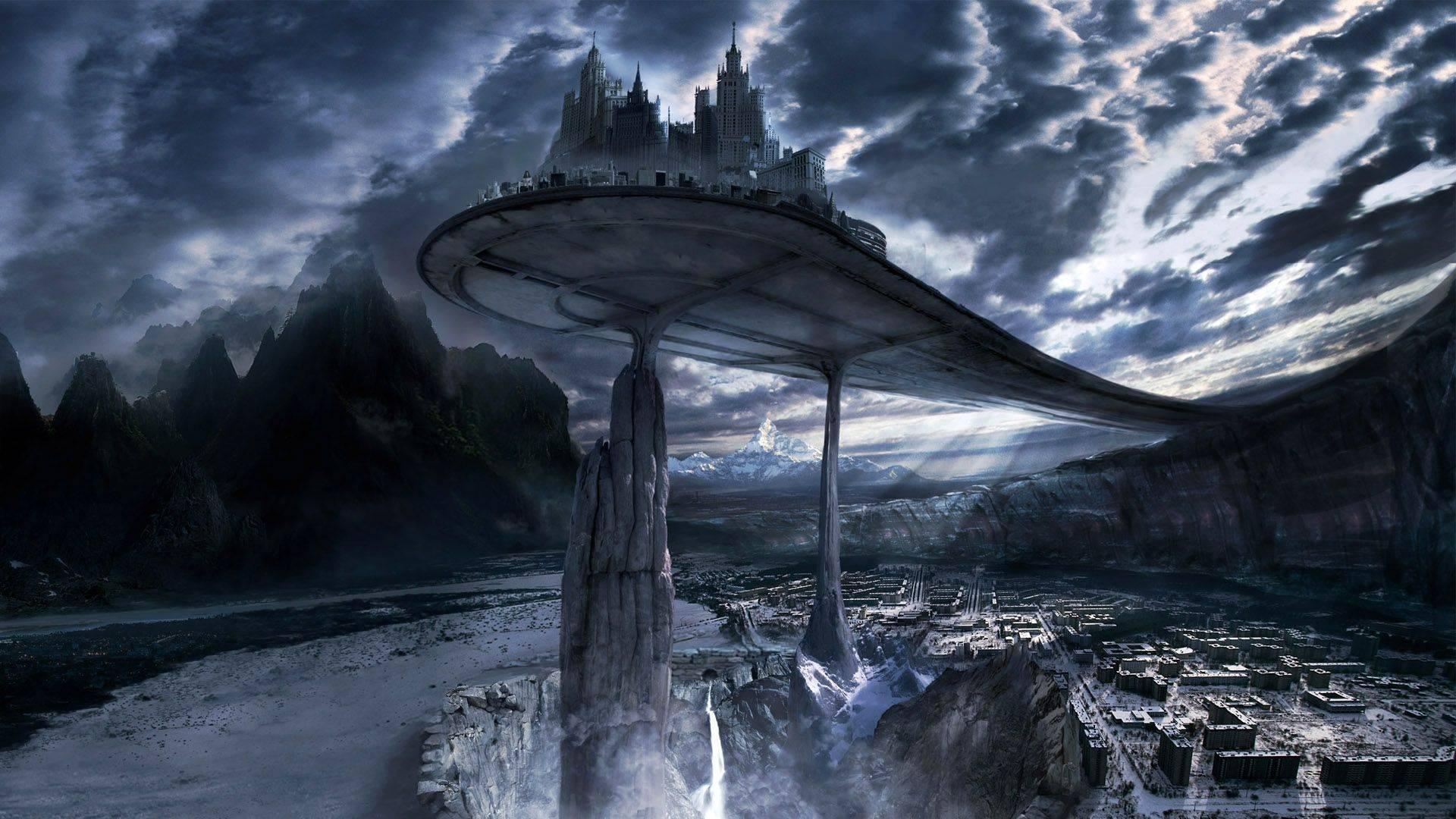 Dark Fantasy Landscape Background Wallpaper | I HD Images