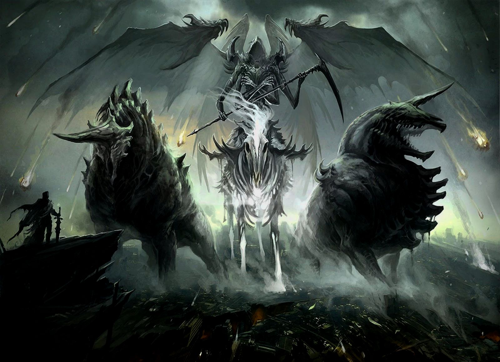 A Collection Of Dark Mysterious Hd Fantasy Wallpapers: Dark Fantasy Wallpapers
