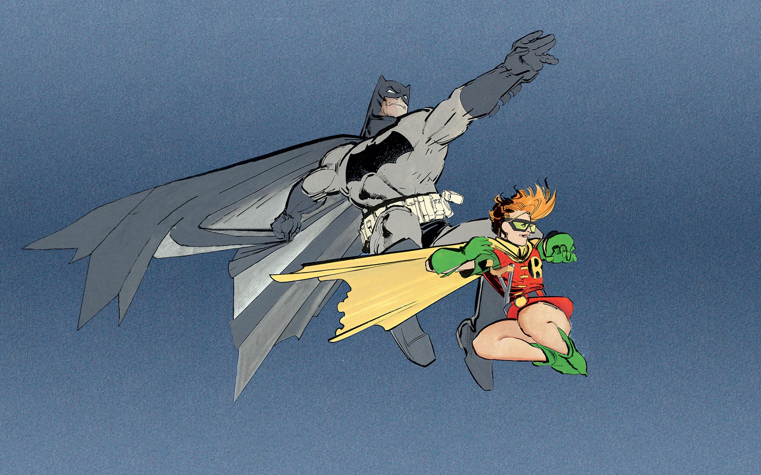Batman Dark Knight Returns Wallpaper - WallpaperSafari