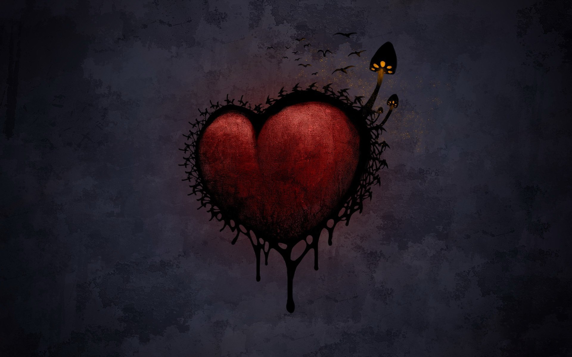 Dark Love Wallpaper