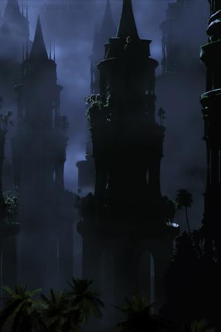 Dark magic castle iPhone Wallpapers, Dark magic castle iPhone
