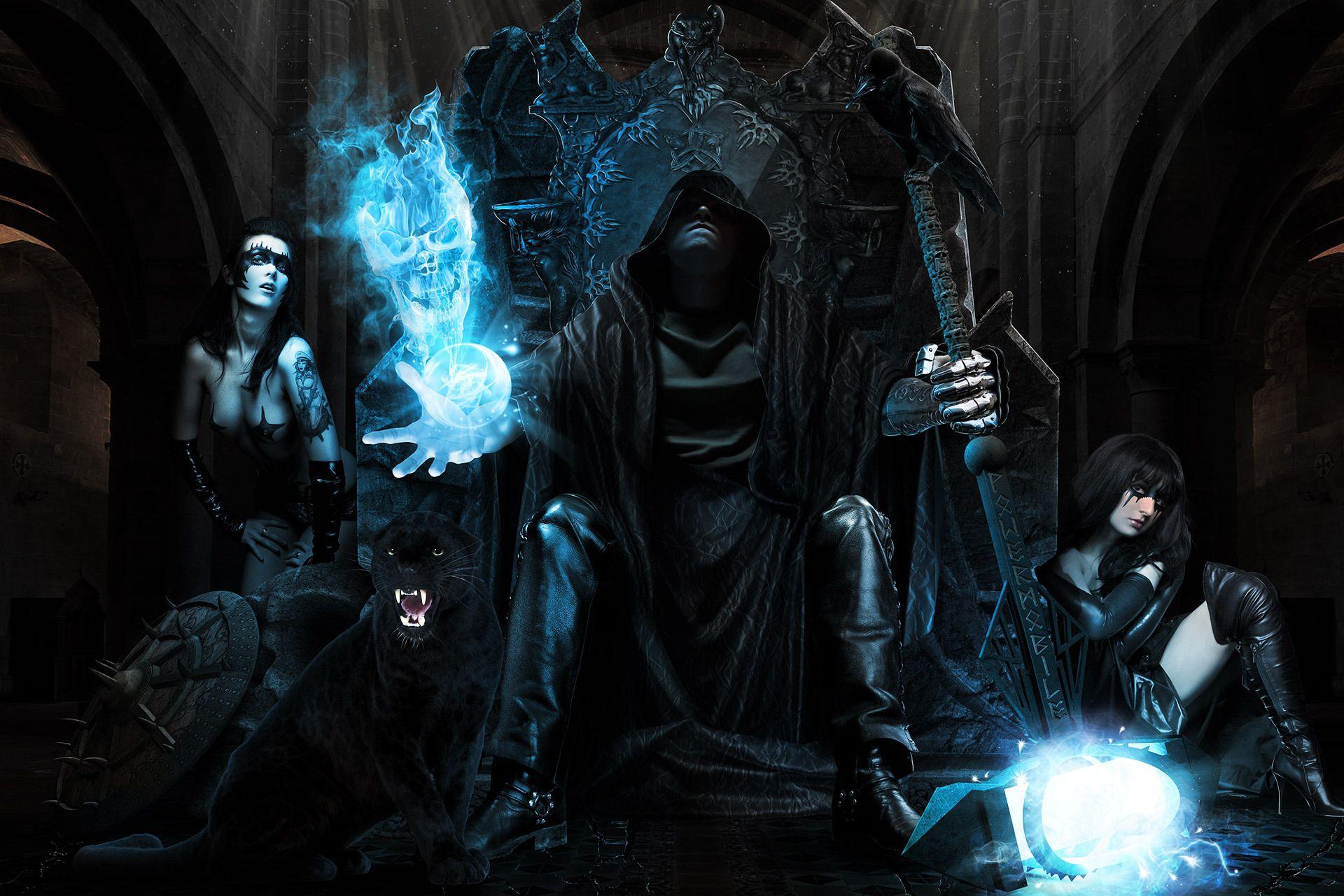 Dark Magic Wallpaper