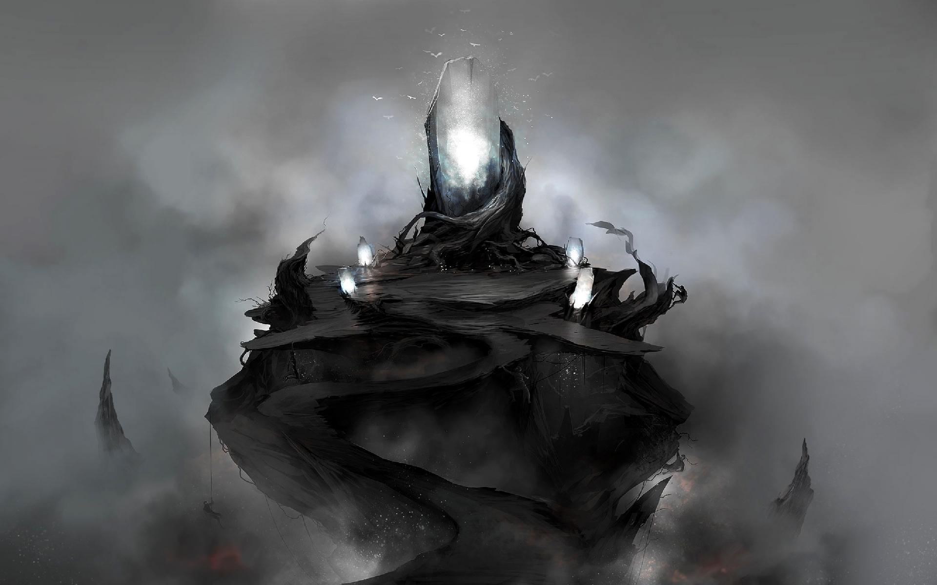 Fantasy dark magic art wallpaper | 1920x1200 | 29382 | WallpaperUP
